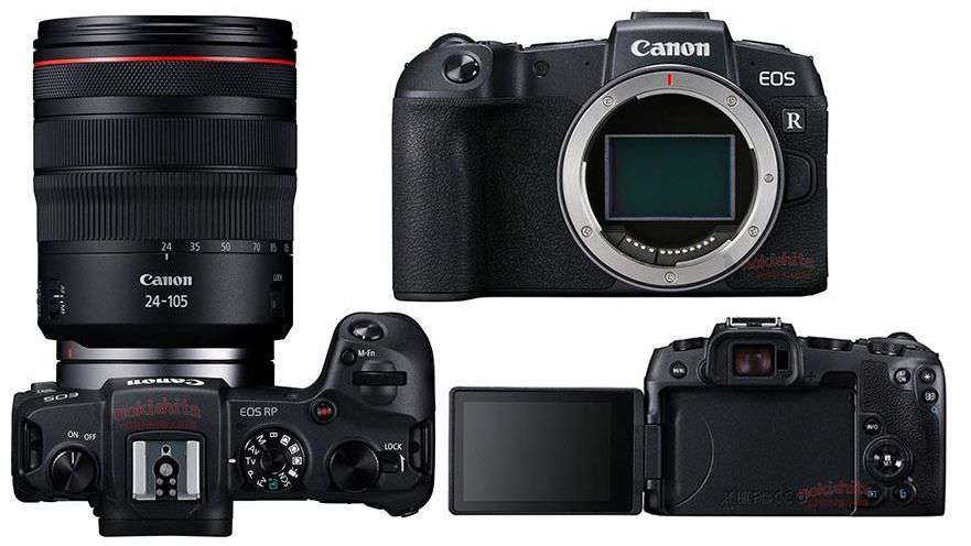 Canon EOS RP Price in Nepal