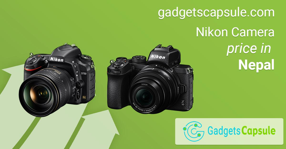 Nikon DSLR and Mirrorless Camera Price in Nepal (August 2020)