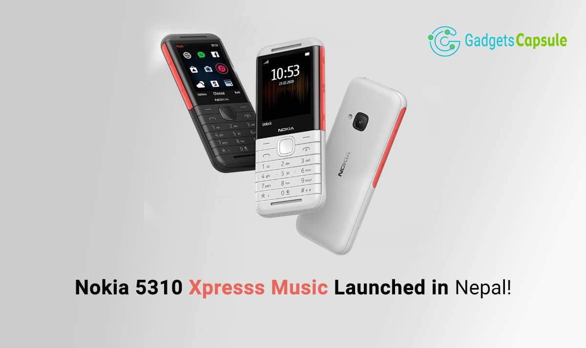 Nokia 5310 Launched in Nepal - Comeback After 12 Years!