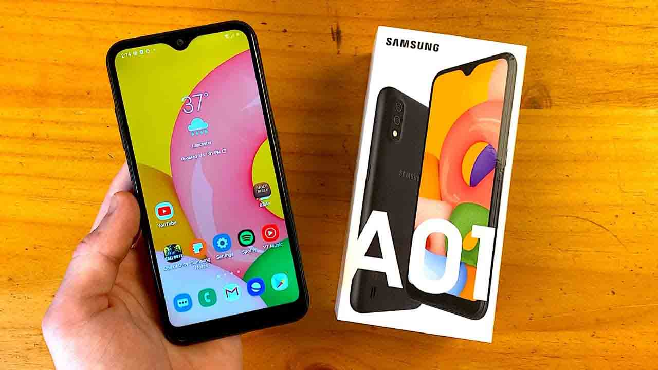 Samsung Galaxy A01 Launched in Nepal - Price, Specs and More