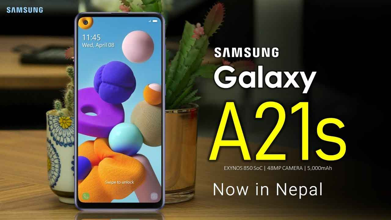 Samsung Galaxy A21s Price in Nepal - 48MP Camera and 5000 mAh Battery