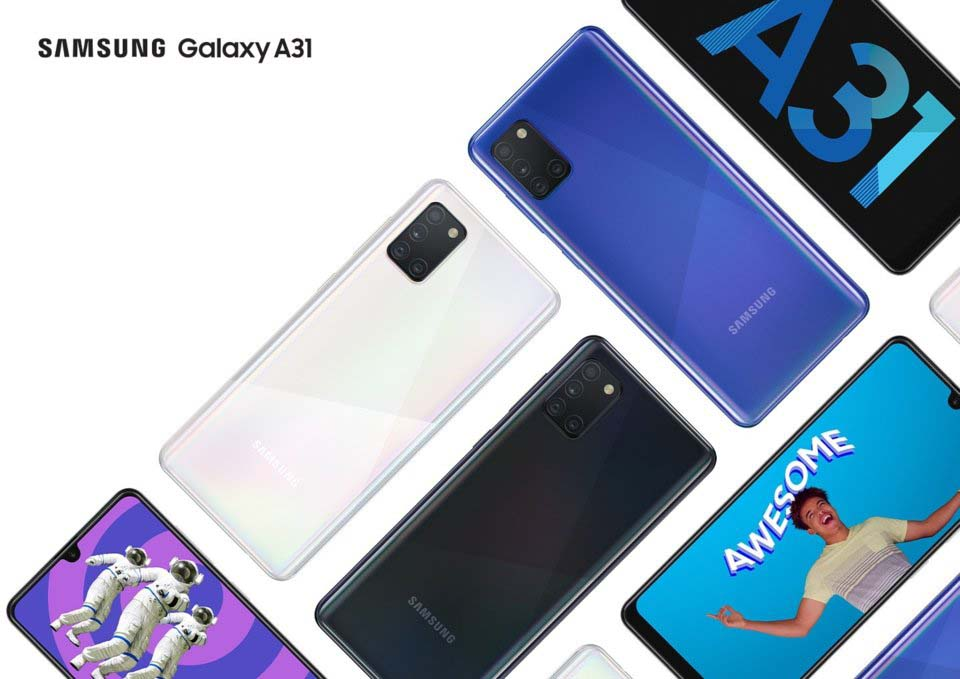 Samsung Galaxy A31 Price in Nepal - 48MP Camera and 5000 mAh Battery